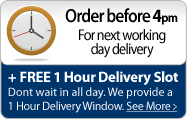 Order before 4pm for next day delivery