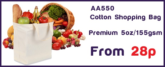 AA550 Cotton Shopper Bag